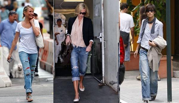 З чим модно носити джинси - рекомендації та фото  4dbd699dc14bc
