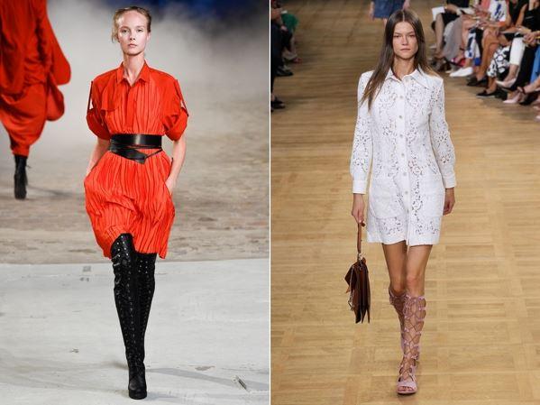 Модні сукні весна-літо 2015 - фото