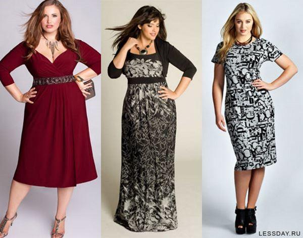 Модные Платья Для Полных С Доставкой