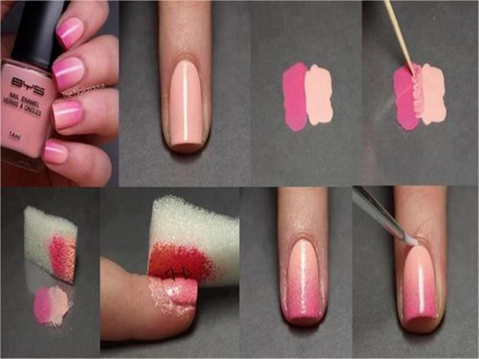 Маникюр на короткие ногти для начинающих в домашних условиях