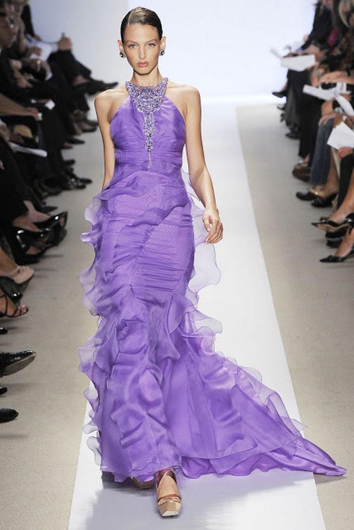 фіолетові сукні