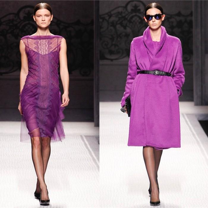 фіолетовий одяг