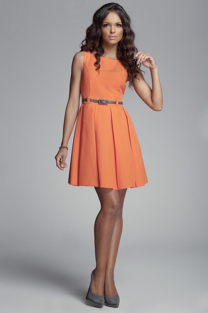 помаранчеві сукні