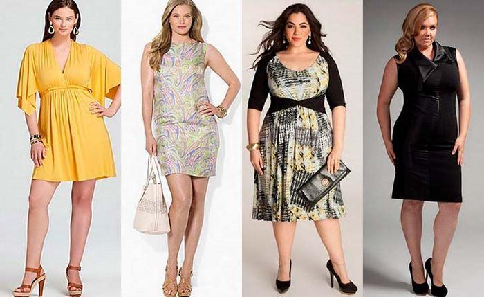 сукні для повних
