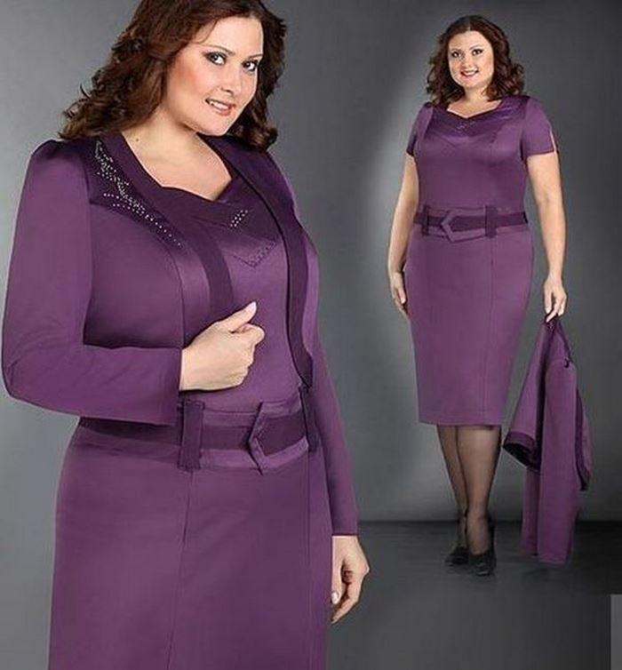 Одежда Для Полных Женщин После 60