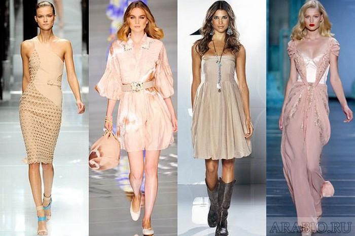 бежеві сукні