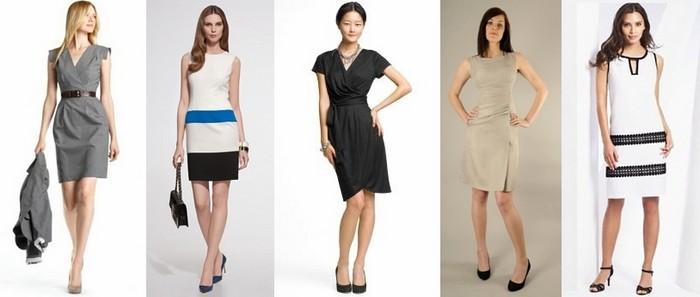літні ділові плаття