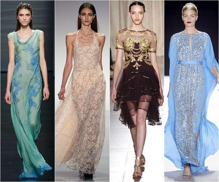 прозорі сукні