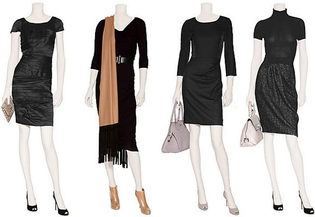 чорні сукні