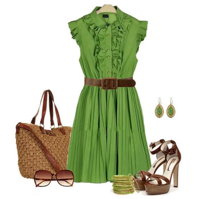 зелені сукні