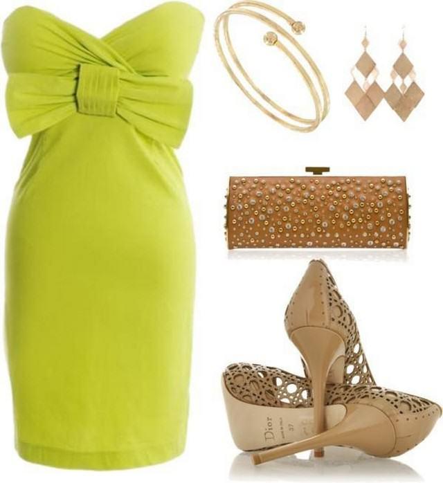зелені плаття