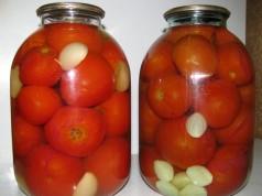 помідори консервовані