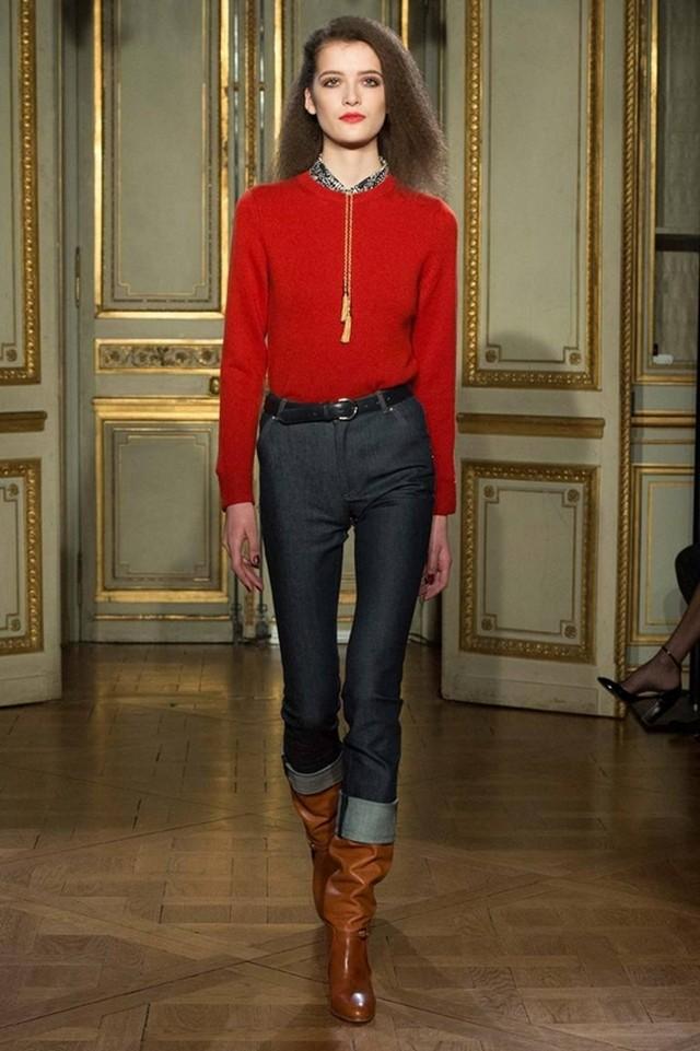 модні жіночі джинси осінь-зима