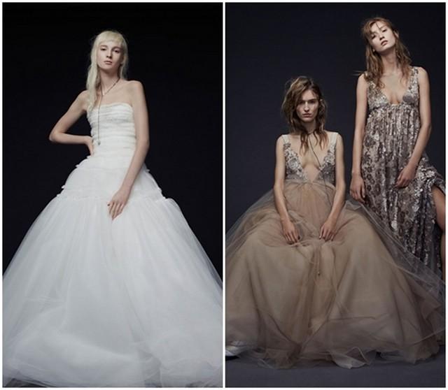 Модні весільні сукні осінь-зима 2015-2016