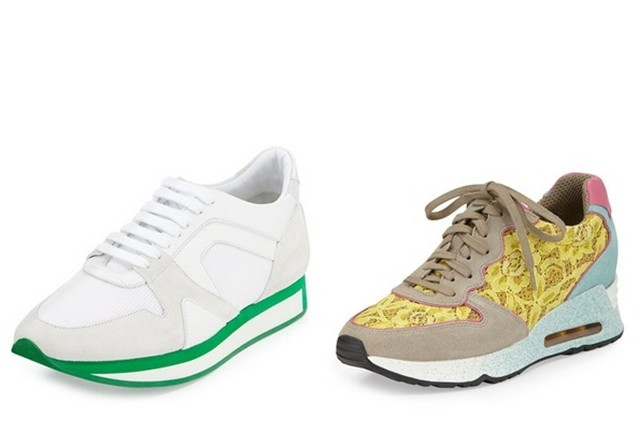 модні кеди і кросівки