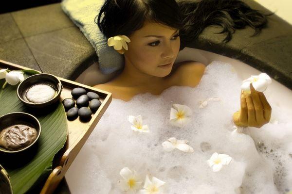 користь ванни для шкіри